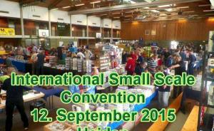 : International Small Scale Convention Heiden 2015