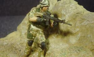 US Special Forces Operator in MULTICAM