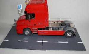 Guard rail and road selection for display
