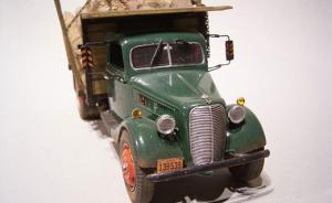 : 36 Ford Stake Truck