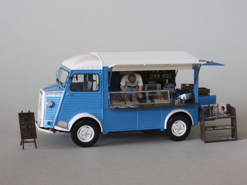Citroen Fourgon Type H Mobile Kitchen