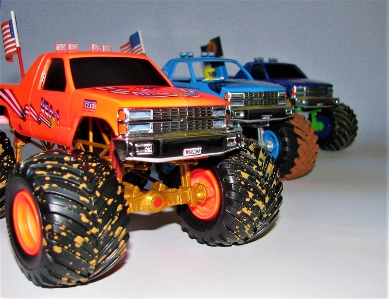Monstertruck-Show-Diorama