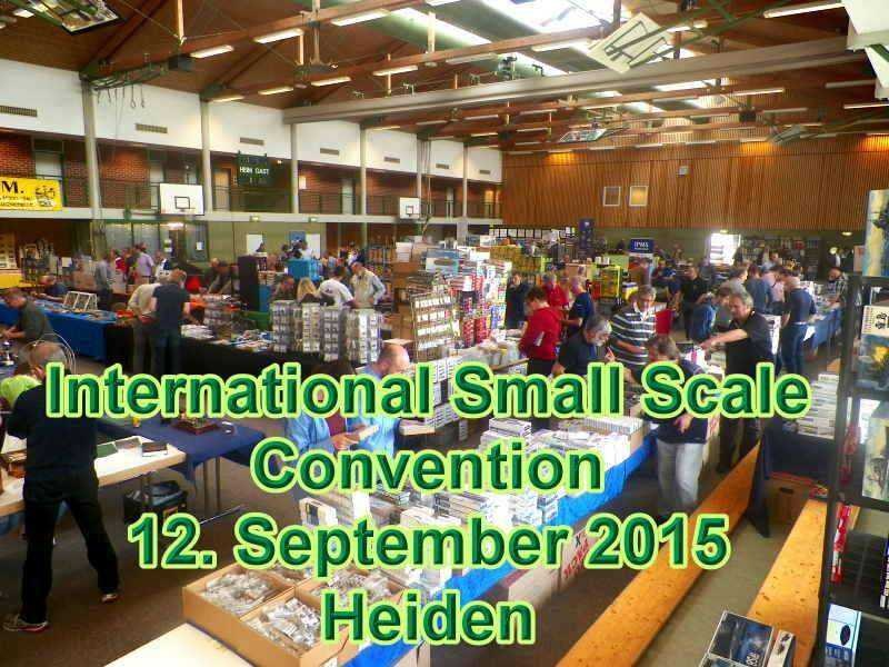 International Small Scale Convention Heiden 2015
