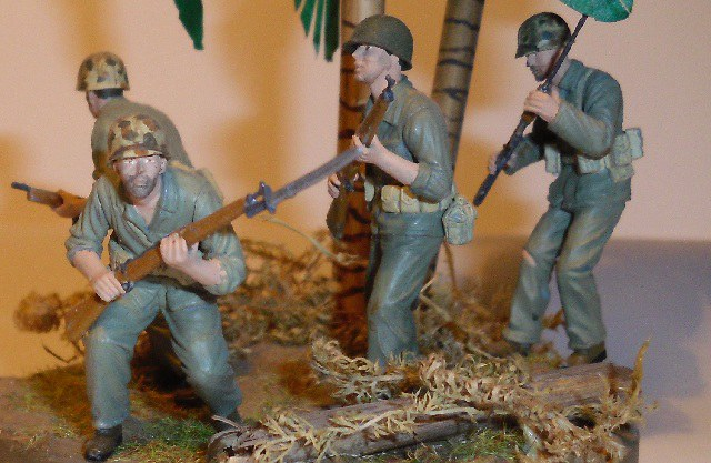 US Marines at Guadalcanal