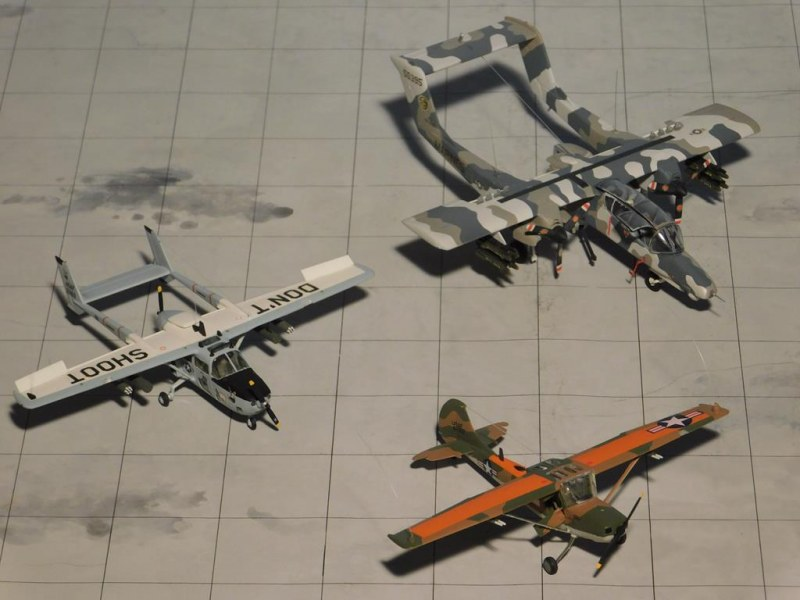 3 Epochen Forward Air Control Vietnam - O-1 Bird Dog, O-2 Skymaster und OV-10 Bronco