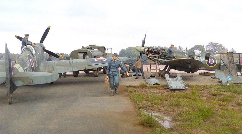 Supermarine Spitfire Mk Ix Eduard 1 48 Von Mike Garamond