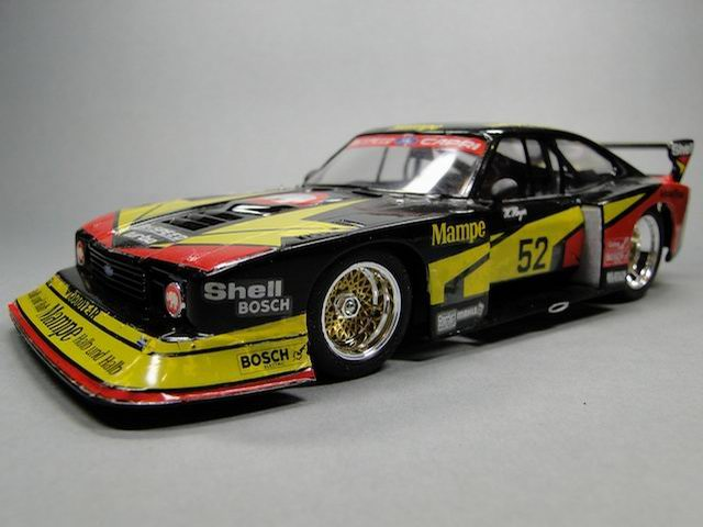 ford capri zakspeed tamiya 1 24 von helmut senger. Black Bedroom Furniture Sets. Home Design Ideas
