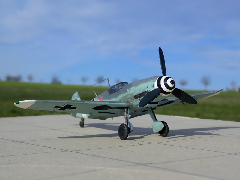 "Bf 109G-4 ""Rote 7"""