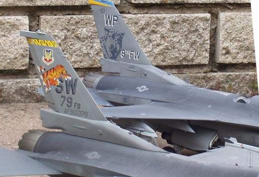 F-16CG Fighting Falcon