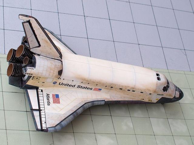 monogram space shuttle interior - photo #13