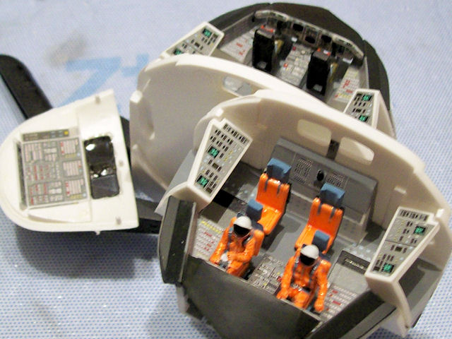 monogram space shuttle interior - photo #2
