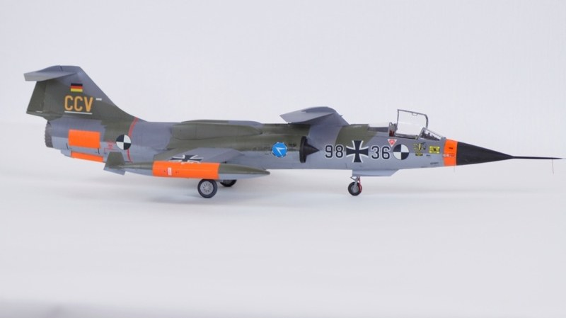 Lockheed F-104G Starfighter CCV