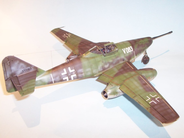 Erfurth  MESSERSCHMITT Me 262  vom Original zum Modell NEU