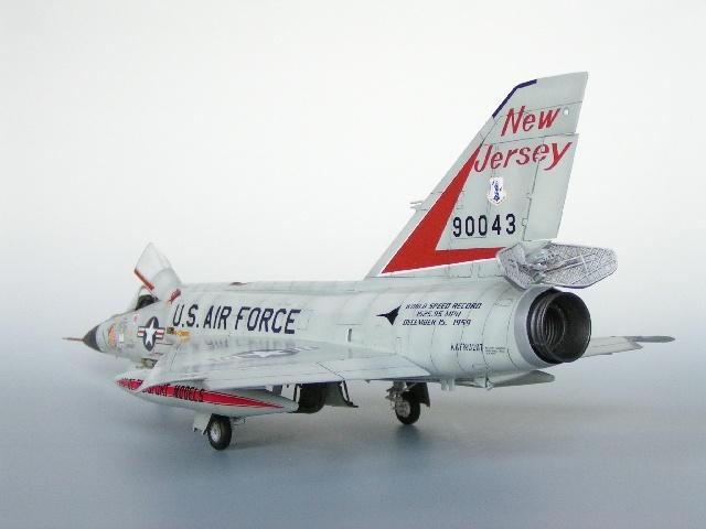 Fotografie Flugzeug Convair F-102 Der Usaf Abgeklebt Für Neue Lackierung Sammeln & Seltenes Transport
