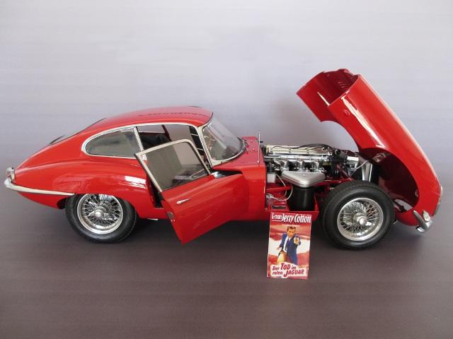Modellbau Jaguar ~ Jaguar e type revell 1:8 von karsten schmidt
