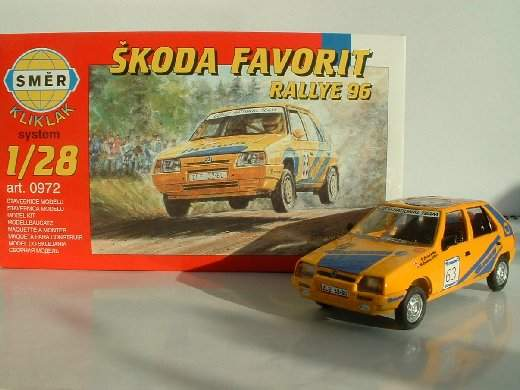 Skoda Favorit Rallye '96