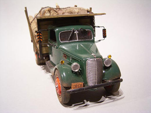 36 Ford Stake Truck