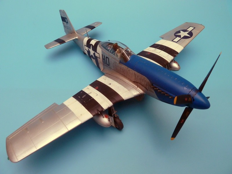 North American P-51D-5NA Mustang early version