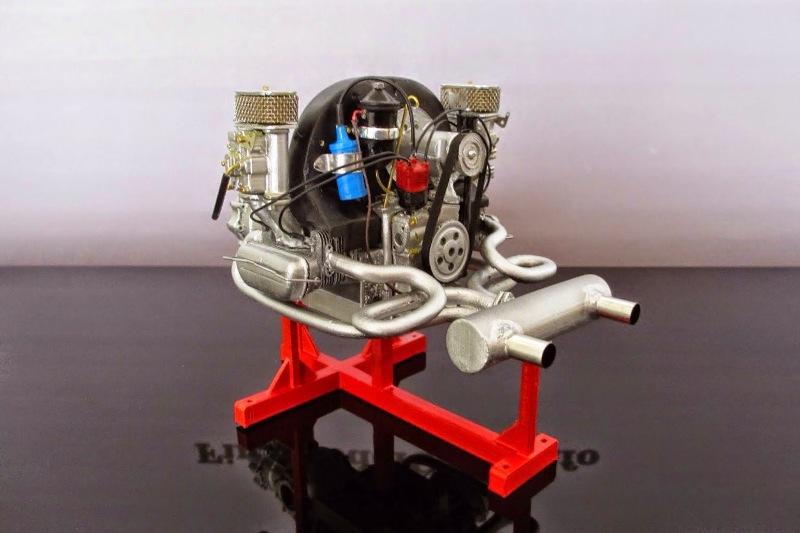 porsche 356 motor eigenbau 1 8 von karsten schmidt. Black Bedroom Furniture Sets. Home Design Ideas