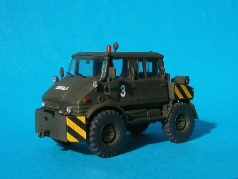 Unimog 406 DoKa, Planet Models 1:72 von Steven Draht