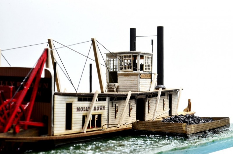"River Towboat ""Molly Brown"""