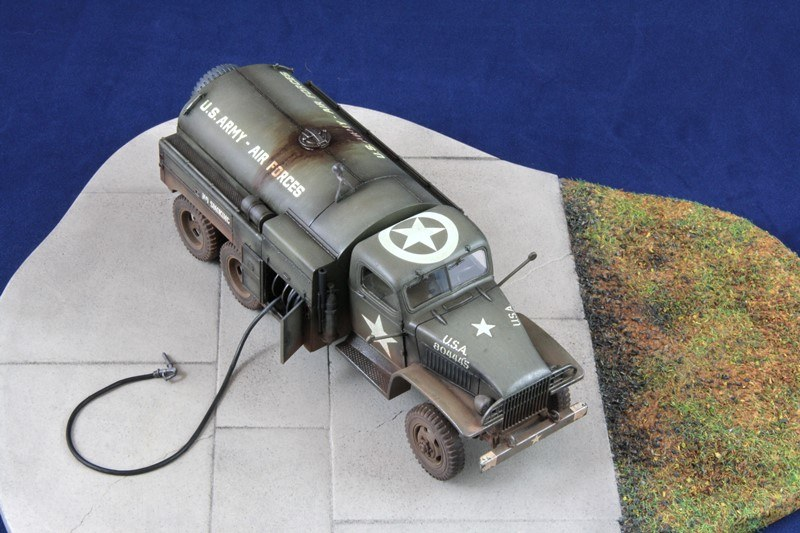 GMC 2,5 to 6x6 Airfield Fuel Truck