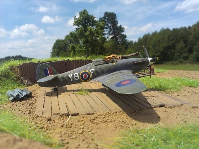 Hawker Sea Hurricane Mkiic Revell 172 Von Theo Peter
