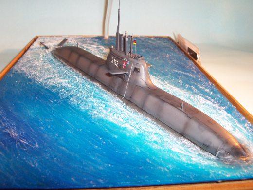 U-Boot Klasse 212A, Revell 1:72 von Alexander Jost