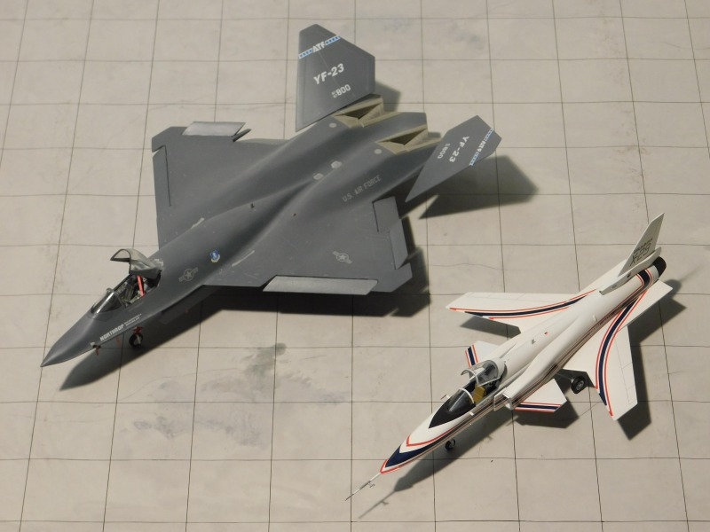 Grumman X-29A ATD vs Northrop YF-23 Black Widow II  PAV-1