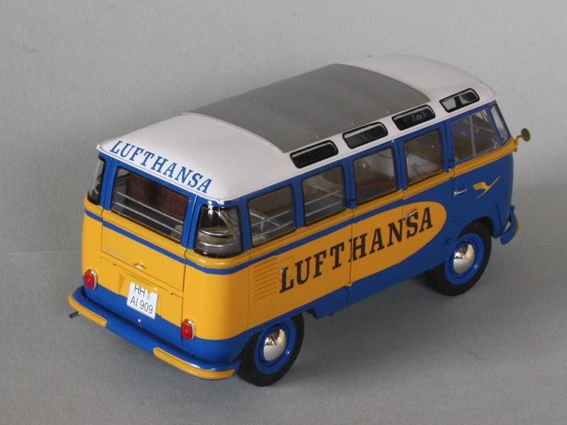 vw t1 samba bus lufthansa skala 1 24