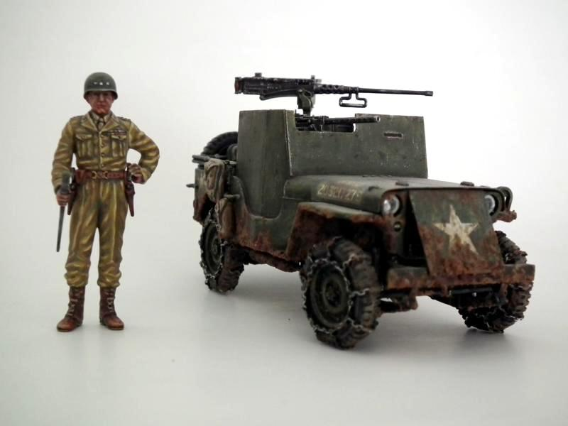 Armored Willys Jeep