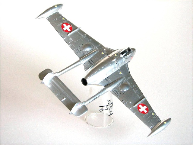 flugzeuge der schweizer luftwaffe verschiedene hersteller 1 72 von bernard vogt. Black Bedroom Furniture Sets. Home Design Ideas