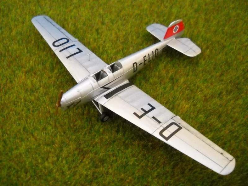 Bücker Bü 180 Student Swappable - design, build, and