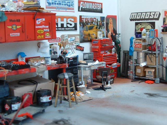Hot Rod Garages Home : Hot rod garage eigenbau von darryl raper