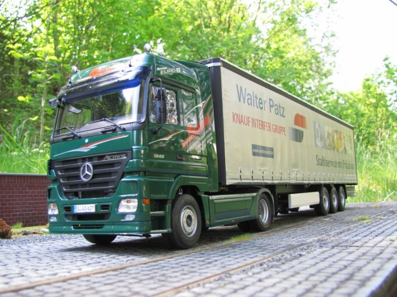 Mercedes Benz Actros 1846 Bluetec5