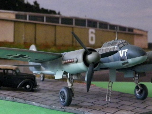 Junkers Ju 88 V7 Passagierversion