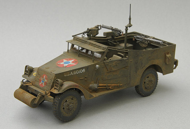 M3A1 White Scout Car Early Production