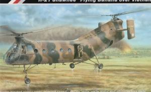 "H-21 Shawnee ""Flying Banana over Vietnam"""