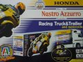 Honda Nastro Azzuro Racing Truck&Trailer and motorcycle