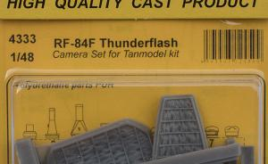 RF-84F Thunderflash Camera Bay Set