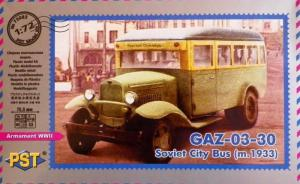 GAZ-03-30 Soviet City Bus