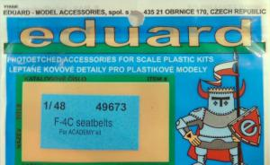 Bausatz: F-4C seatbelts