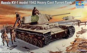 : KV-I model 1942 Heavy Cast Turret Tank