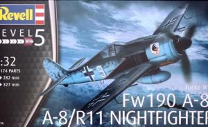 Focke Wulf Fw190 A-8/R11 NIGHTFIGHTER