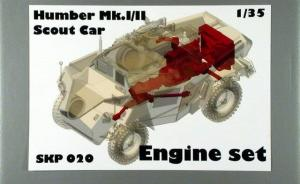 Humber Mk.I/II Scout Car - Engine set