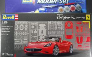 Ferrari California (open top) Modelset