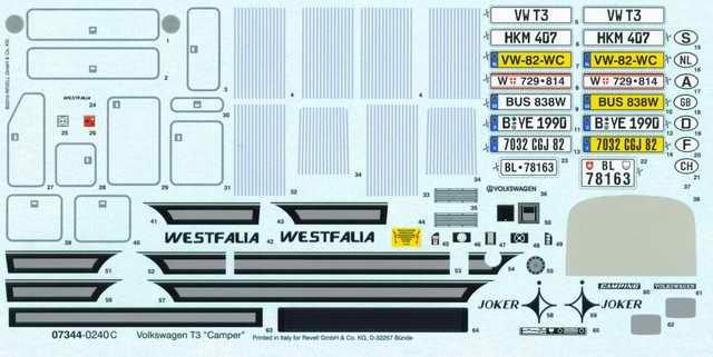 "Revell - Volkswagen T3 ""Camper"""