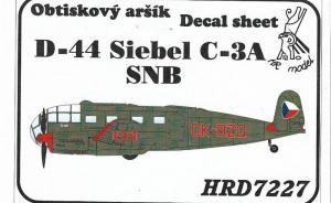 Kit-Ecke: D-44 Siebel C-3A SNB