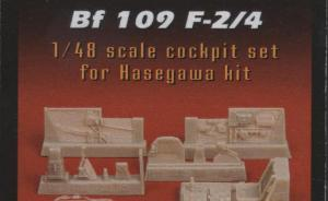 Messerschmitt Bf 109 F-2/4 cockpit set
