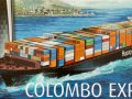 Kit-Ecke: Container Ship Colombo Express